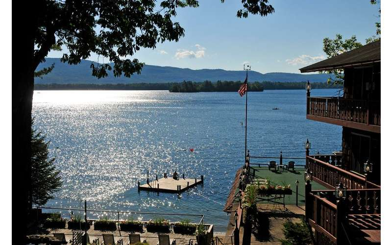 Canoe Island Lodge Lakeside Lodging In Lake George Ny