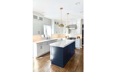 Stunning White Kitchen