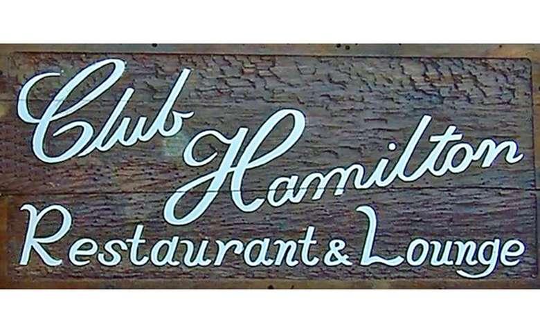 club hamilton restaurant and lounge logo