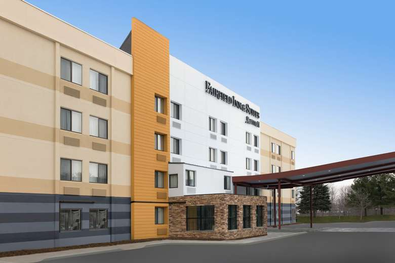 Image from the exterior of the Fairfield Inn & Suites Albany East Greenbush