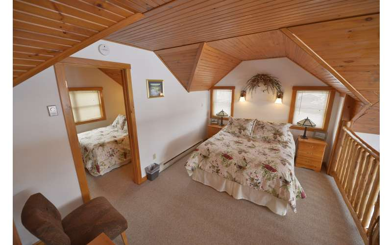 Upstair Bedrooms in the Mallard Cottage