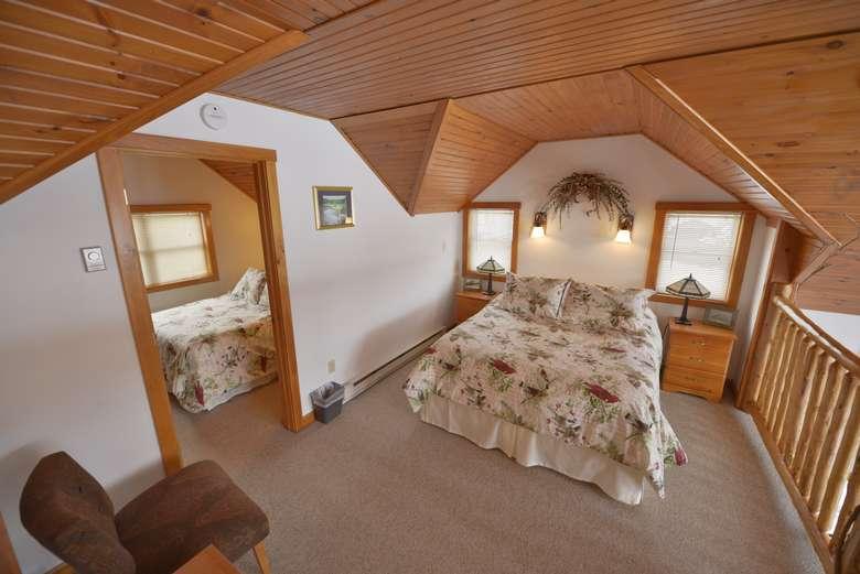 Bedroom in the Mallard cottage