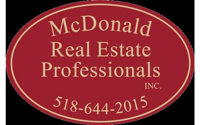 Contact McDonald Real Estate Professionals at 518-644-2015