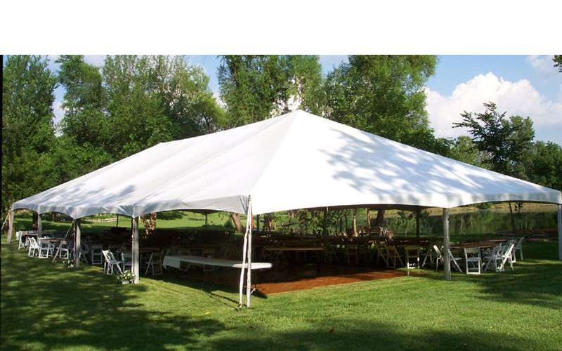 Multiple frame tents.