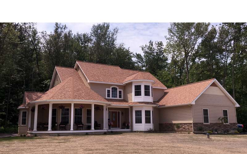 Custom home building by saratoga construction for Panelized homes new york