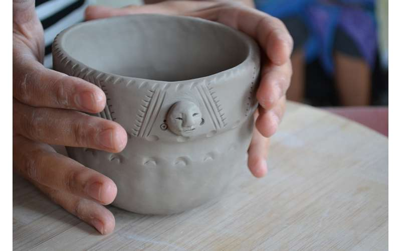 The Museum Displays Handcrafted & Locally-Made Pottery