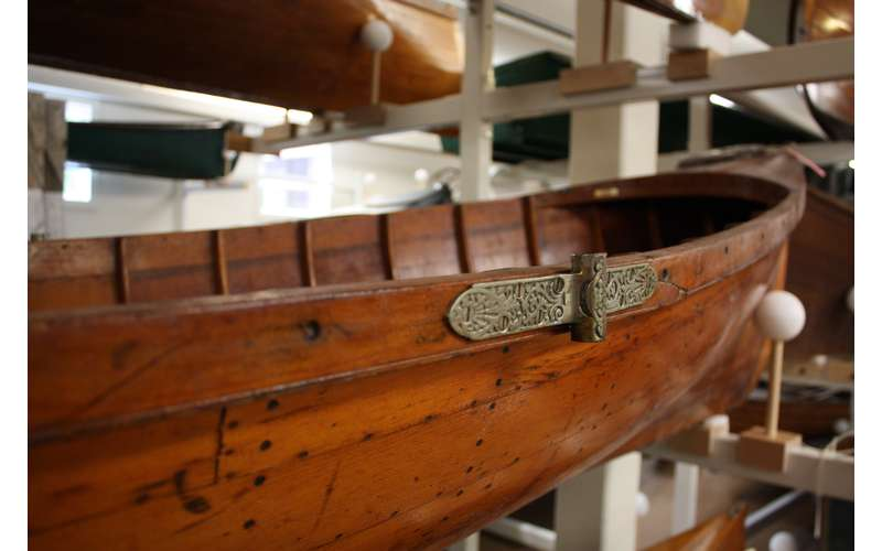 Take a Closer Look at a Boating Exhibit
