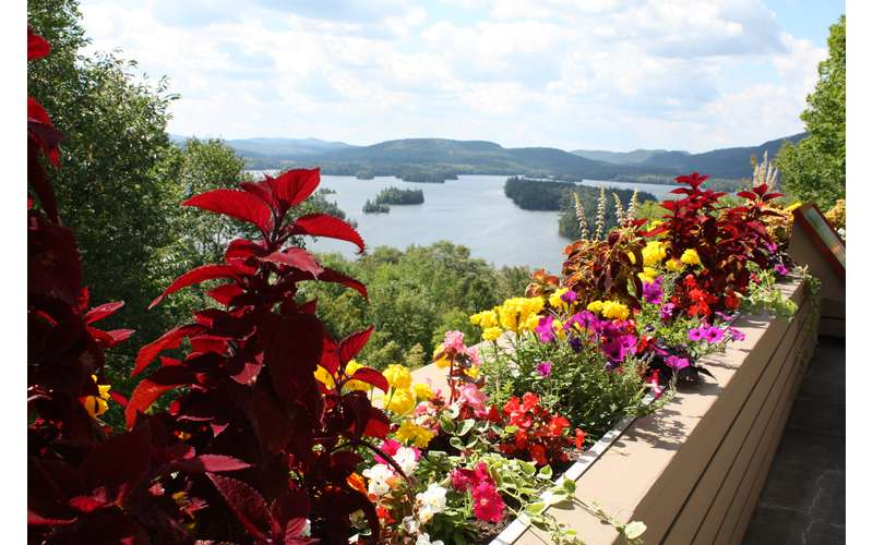 Check Out the View of Blue Mountain Lake