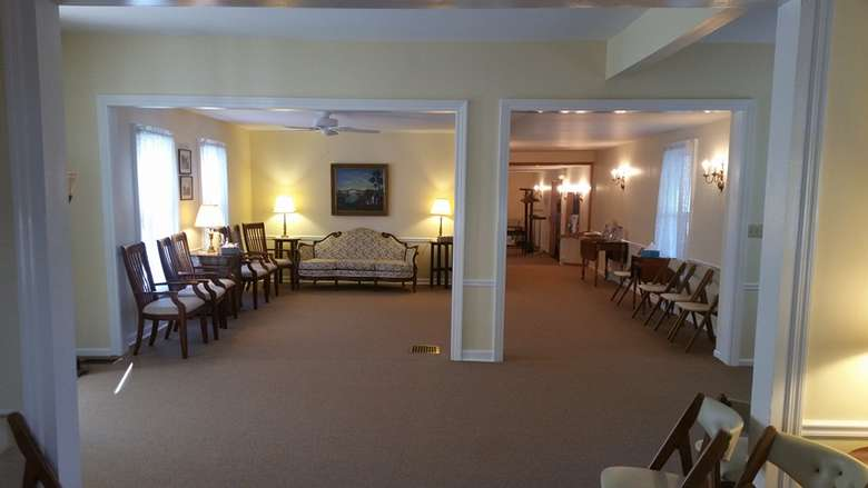 The newly renovated main gathering space