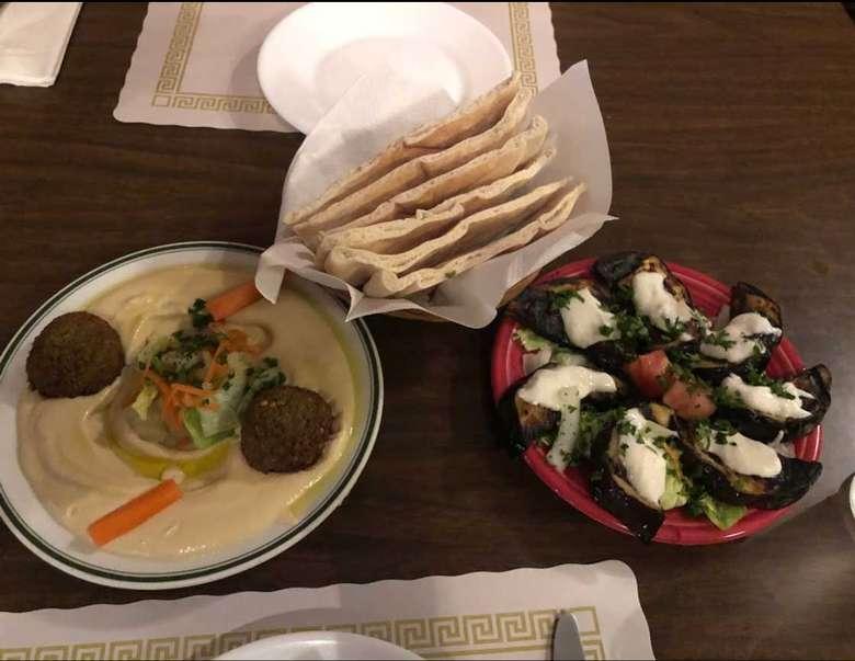 several Mediterranean dishes
