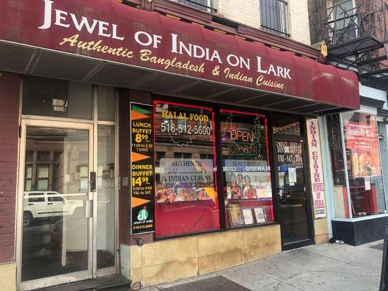exterior of jewel of india restaurant