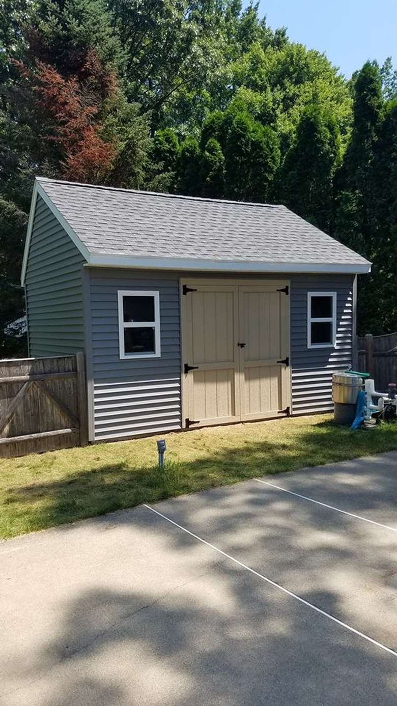 New shed for Clifton Park residents