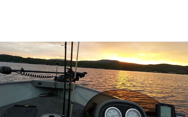 A Relaxing Fishing and Boating Trip