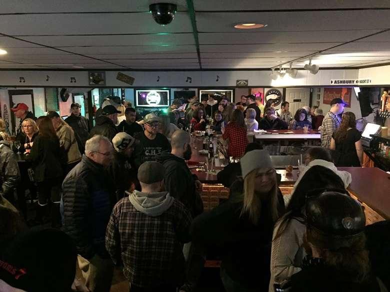 people inside a bar