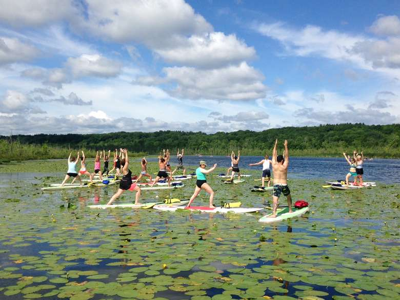 SUP Yoga at Kayak Shak (11)