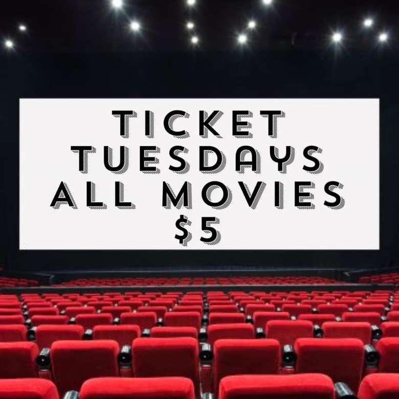 Ticket Tuesdays ad