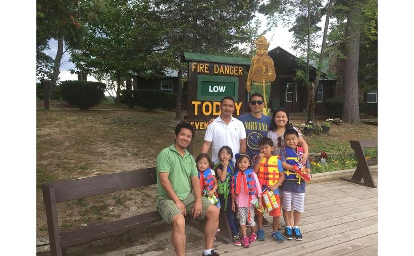 We often stop on Glen Island for ice cream!