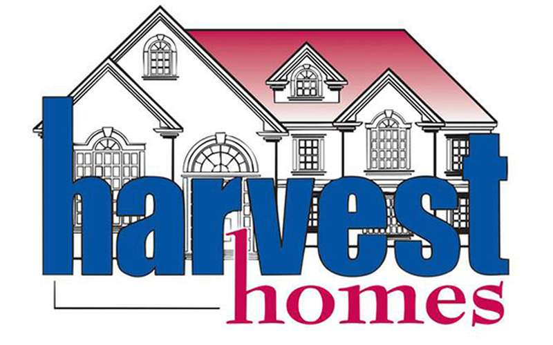 the logo for harvest homes