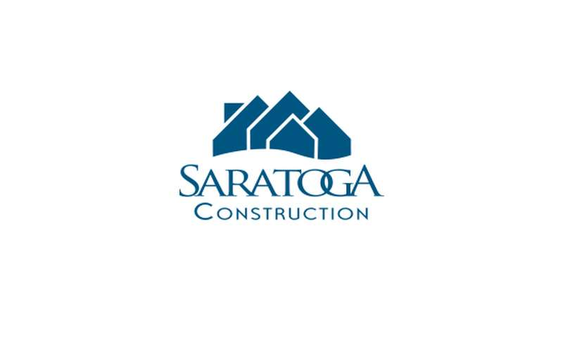 logo for saratoga construction llc