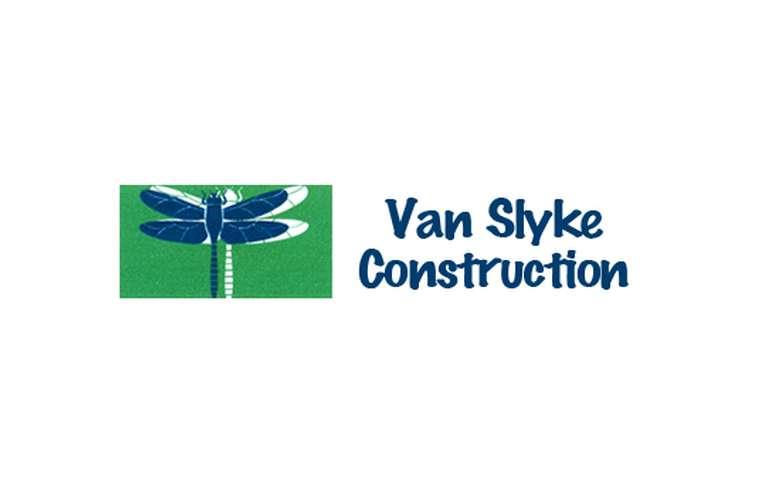 logo for van slyke construction