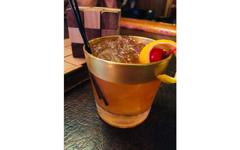 Old fashioneds served old fashioned