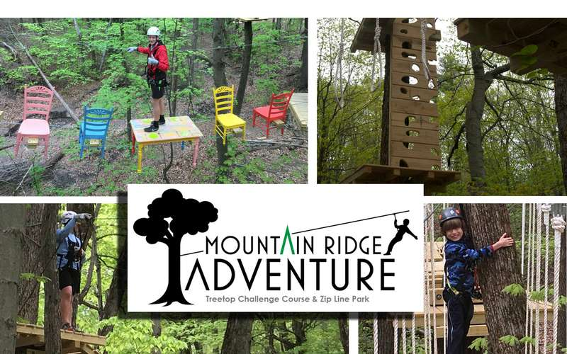 Experience the adventure at Mountain Ridge Adventure!