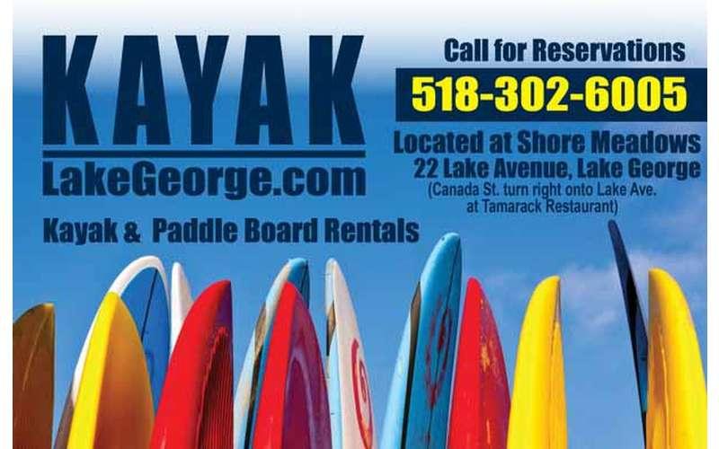Kayak Lake George (1)