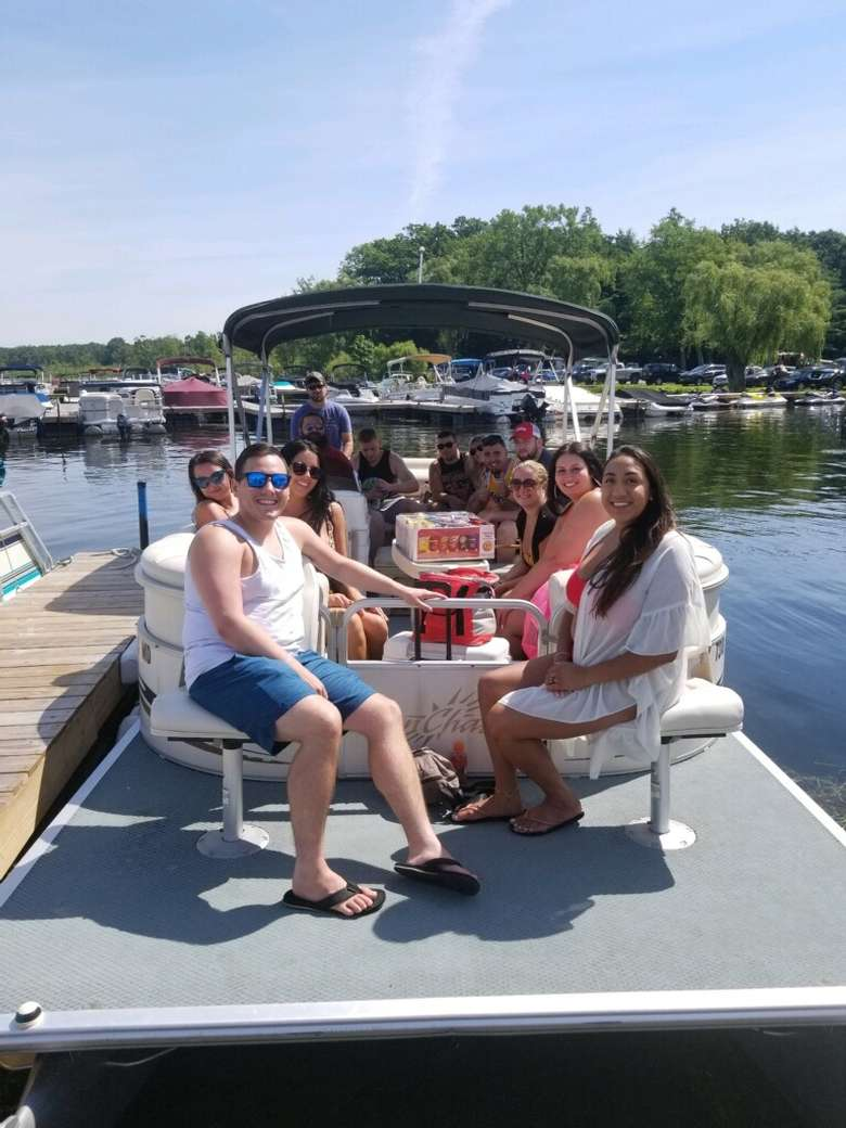 Our Sunchaser Pontoon