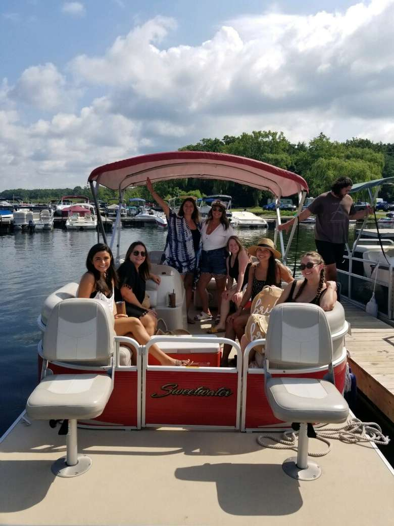 Our Sweetwater Pontoon