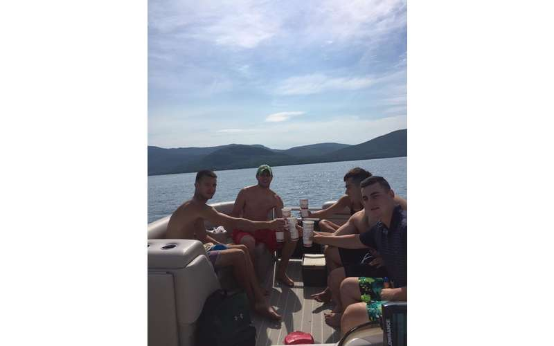 Get your friends together for a fun-filled day on the lake.