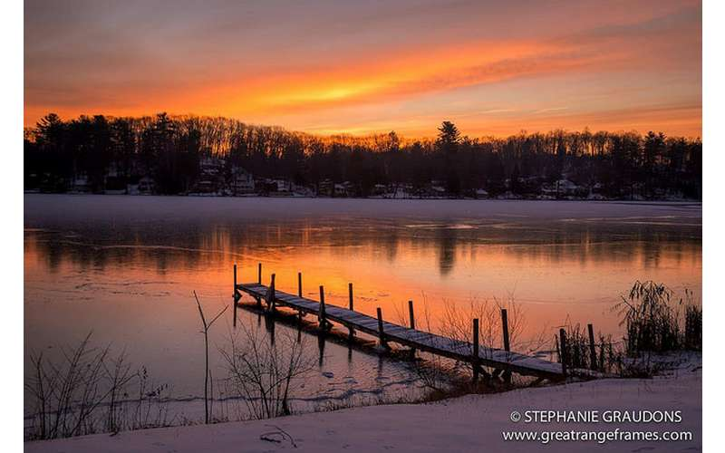 Glen Lake Sunrise - Photo Credit: Great Range Frames
