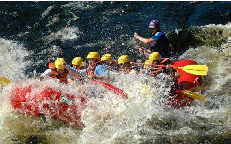 Hudson River Rafting in the Adirondacks