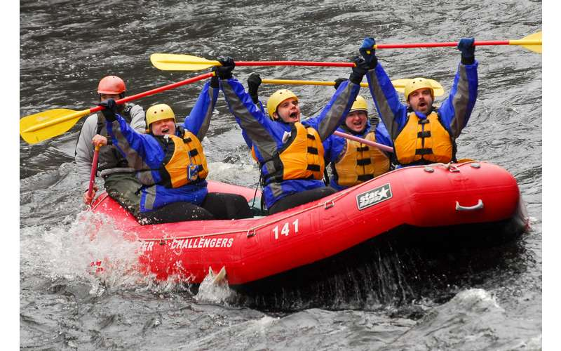 Spring Rafting Trips at the Hudson River