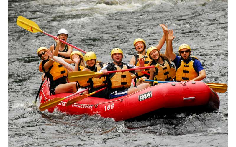 Fun Family Rafting Adventure in NY