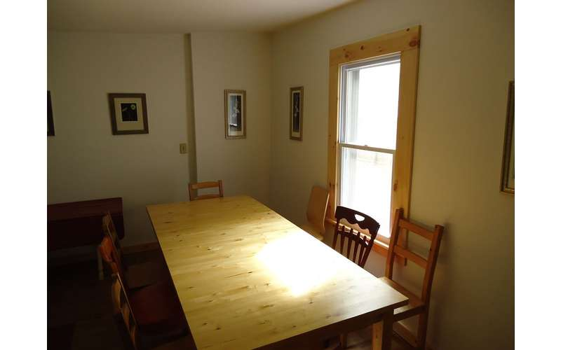 The large kitchen table