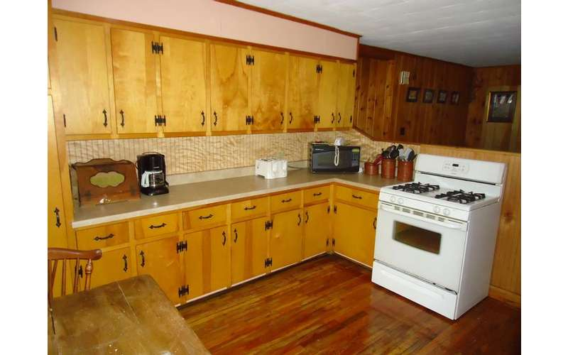 Our Kitchen which opens to the Diningroom