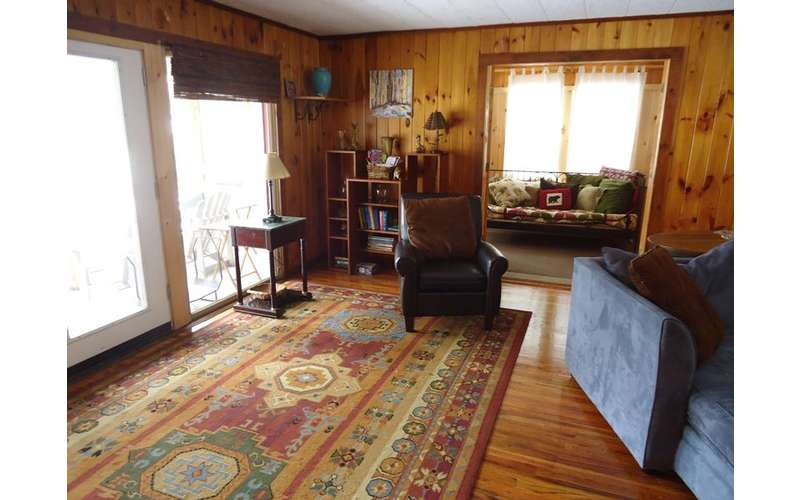 Another angle of the Living room with door to the porch