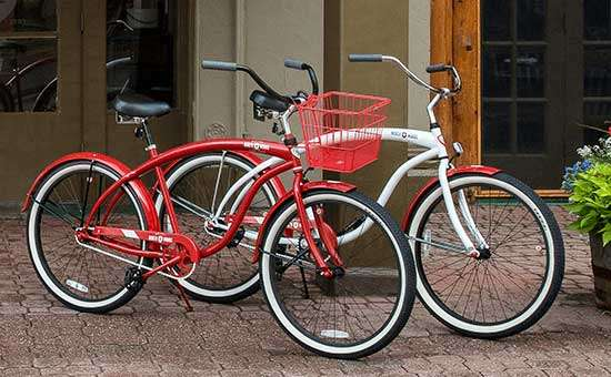 Bike rentals available