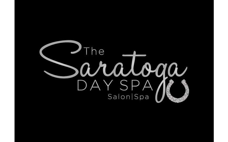 the logo for the saratoga day spa
