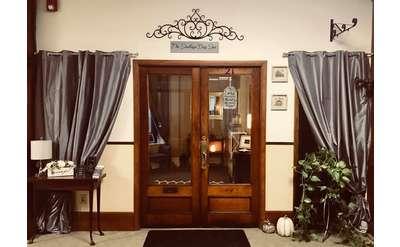 entrance of the saratoga day spa