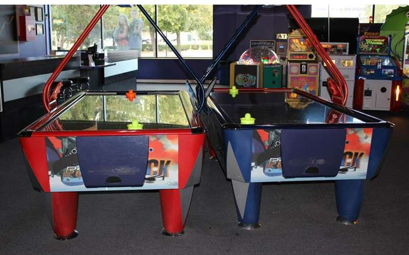 Challenge Your Friends To Air Hockey!