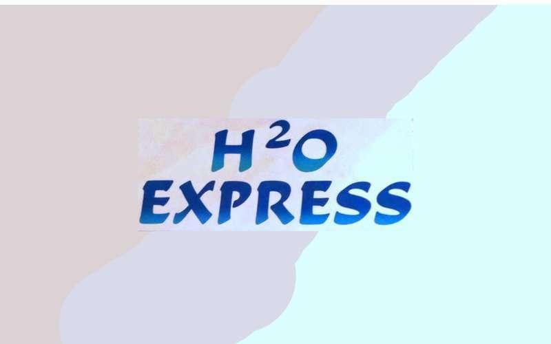 H2O Express logo