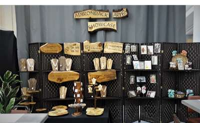 Adirondack Artists Showcase of one-of-a-kind gifts.