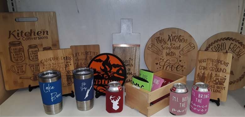 Handcrafted Lake George Gifts