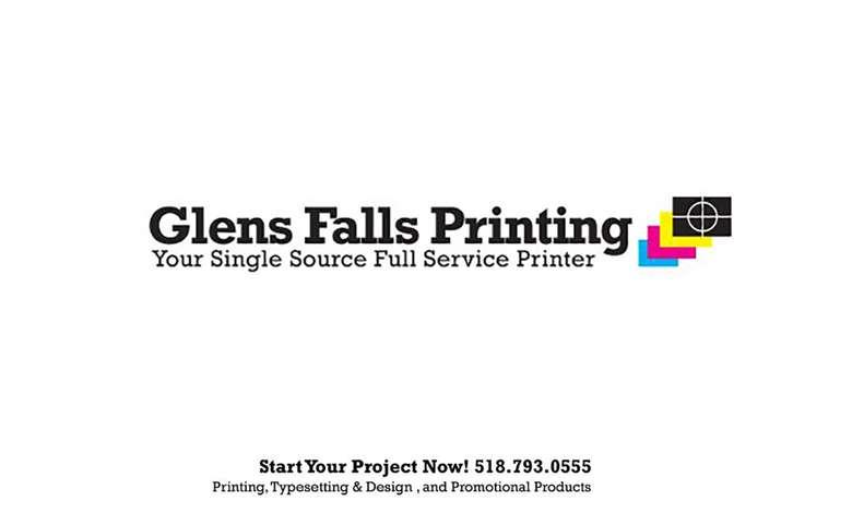 Glens Falls Printing Logo
