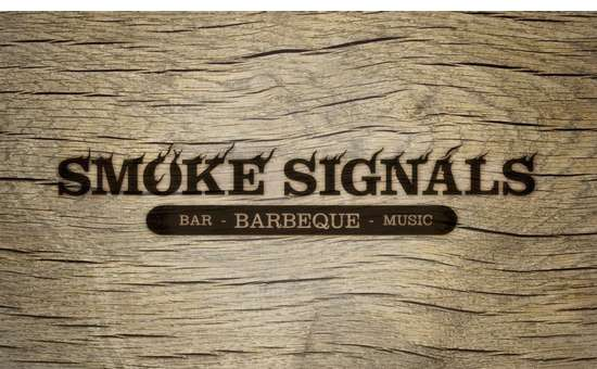 smoke signals barbeque logo