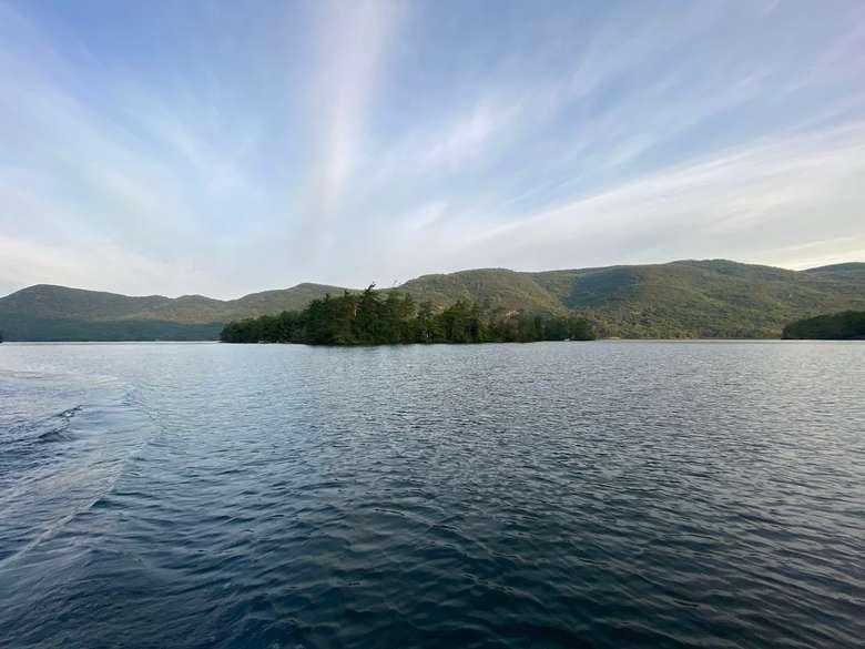 Phenita Island on Lake George