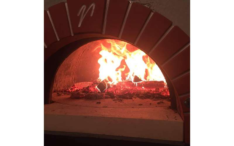 Many dishes on the menu involve the wood-fired oven.