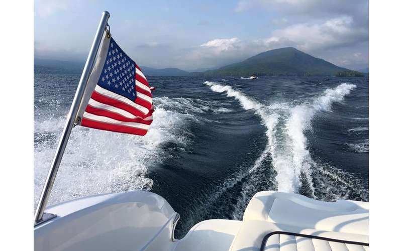 No need to rent a boat. Bolton Boat Tours has their own experienced captains.