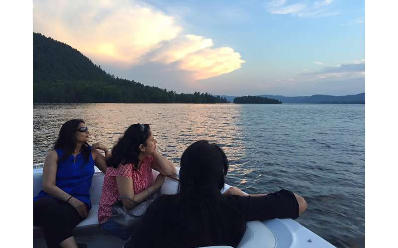 Enjoy the beauty of Lake George.